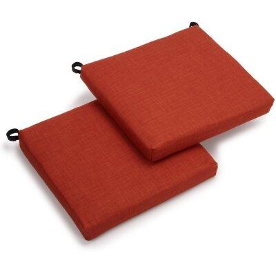 Outdoor Chair Cushion Fabric: Cinnamon