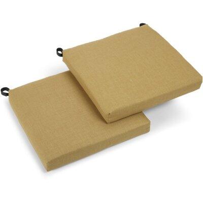 Outdoor Chair Cushion Fabric: Wheat