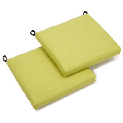 Outdoor Chair Cushion Fabric: Lime