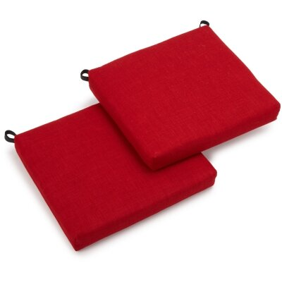 Outdoor Chair Cushion Fabric: Papprika