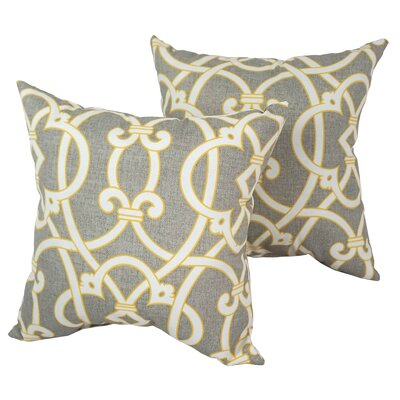 Designer Indoor/Outdoor Throw Pillow