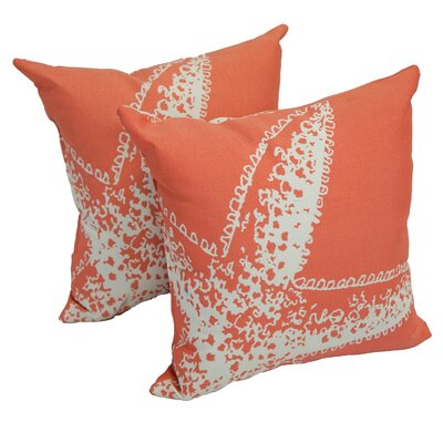 Burdette Starfish Indoor/Outdoor Throw Pillow