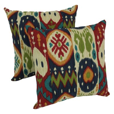 Genibrel Dockside Indoor/Outdoor Throw Pillow Set Of: Set of 2