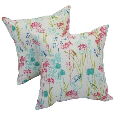 Seline Spring Outdoor Throw Pillow