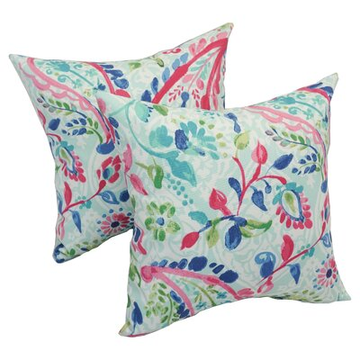 Pavel Paisley Outdoor Throw Pillow