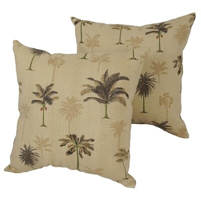 Abbotford Palm Desert Outdoor Throw Pillow