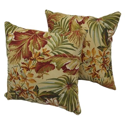 Harish Indoor/Outdoor Throw Pillow