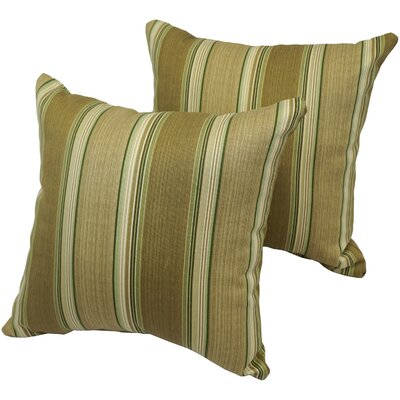 Pratik Stripe Indoor/Outdoor Throw Pillow