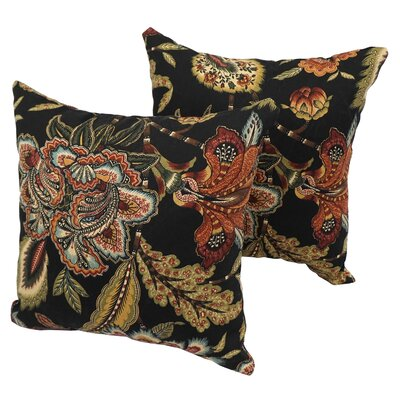 Bly Traditional Indoor/Outdoor Throw Pillow