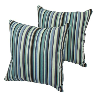 Patchway Stripe Indoor/Outdoor Throw Pillow