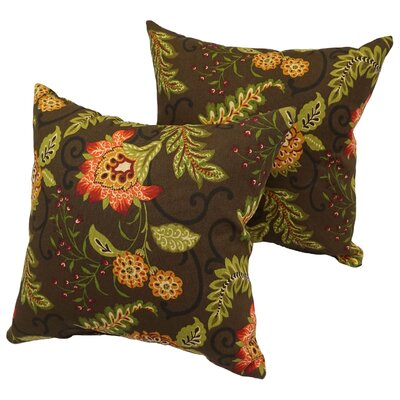 Bly Traditional Outdoor Throw Pillow
