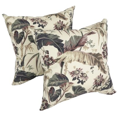 Gialou Tropical Indoor/Outdoor Throw Pillow
