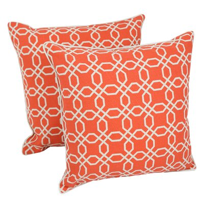 Pullen Lattice Throw Pillow