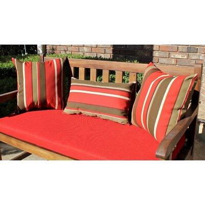 Blazing Needles Pattern Outdoor Pillow / Decorative Pillow (Set of 3) - Color: Vanya Paprika at Sears.com