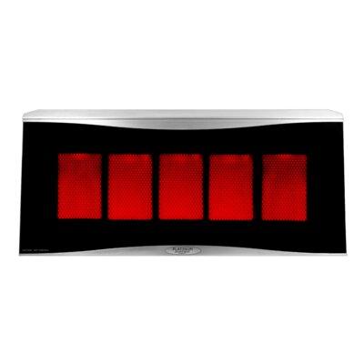 Bromic Bromic Platinum 500 Radiant 39,800 Btu Mounted Patio Heater