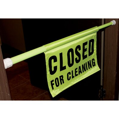 30 - 44 Closed For Cleaning Pole Safety (Set of 6)