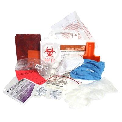 Bloodborne Pathogen Cleanup Plastic Kit