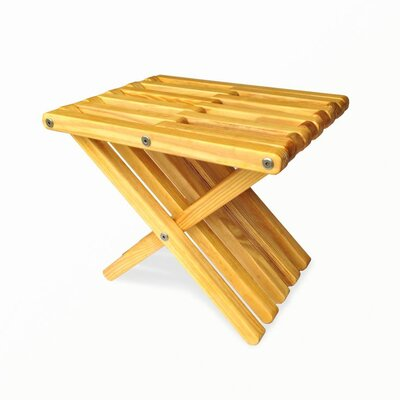 Xquare Side Table Finish: Honey