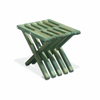 Xquare Side Table Finish: Alligator Green