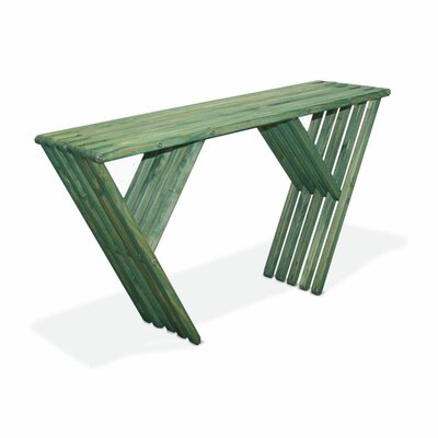Xquare Eco Friendly Console Table X60 Finish: Alligator Green