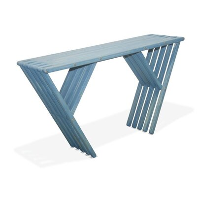 Xquare Eco Friendly Console Table X60 Finish: Sky Blue