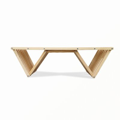 Xquare Coffee Table Finish: Clear
