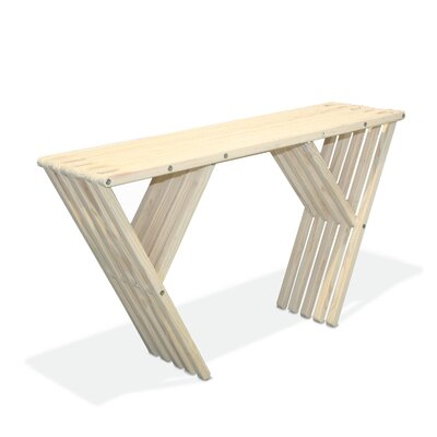 Xquare Eco Friendly Console Table X60 Finish: Brides Veil