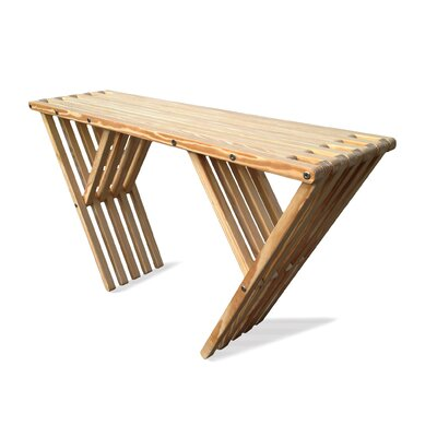 Xquare Eco Friendly Console Table X60 Finish: Clear Finish