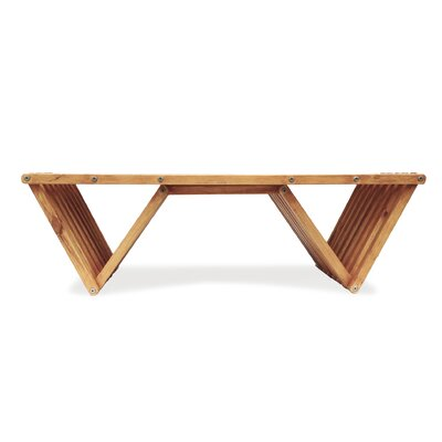 Xquare Coffee Table Finish: Light Brown
