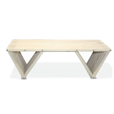 Xquare Coffee Table Finish: Brides Veil
