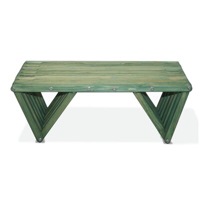 Xquare Coffee Table Finish: Alligator Green