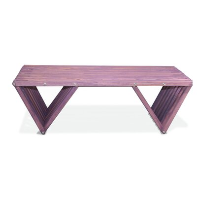 Xquare Coffee Table Finish: Purple Berry