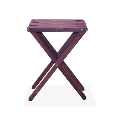 X45 End Table Color: Purple Berry