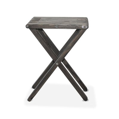 X45 End Table Finish: Wild Black