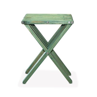 X45 End Table Finish: Alligator Green