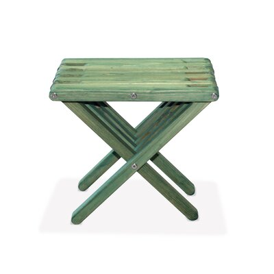 End Table Finish: Alligator Green