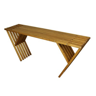 Xquare Console Table Finish: Light Brown