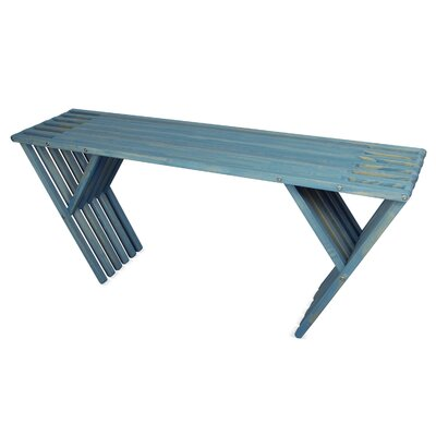 Xquare Console Table Finish: Sky Blue
