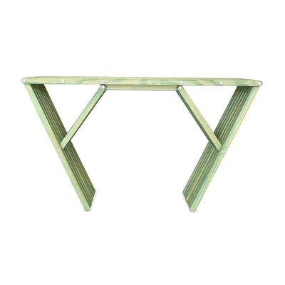 Xquare Console Table Finish: Alligator Green