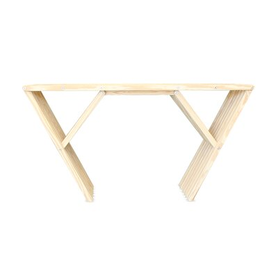 Xquare Console Table Finish: Brides Veil
