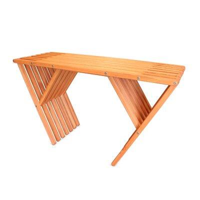 Xquare Console Table Finish: Buffalo Wing