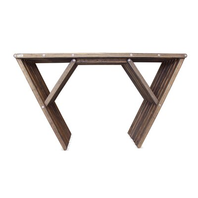 Xquare Console Table Finish: Espresso Brown