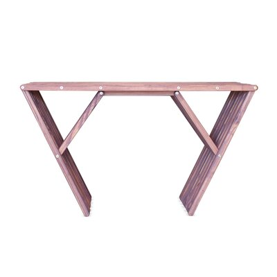 Xquare Console Table Finish: Purple Berry