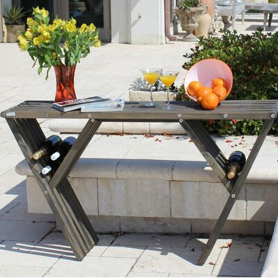 Xquare Eco Friendly Console Table X60 Finish: Wild Black