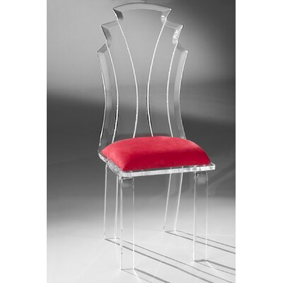 Tiffany Side Chair Upholstery: Red