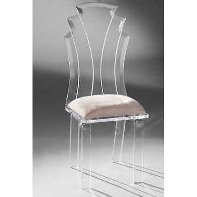 Tiffany Side Chair Upholstery: Creme