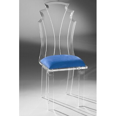 Tiffany Side Chair Upholstery: Cobalt
