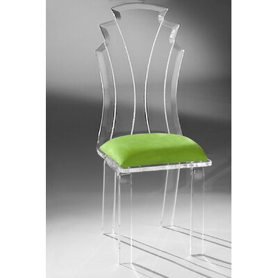 Tiffany Side Chair Upholstery: Lime