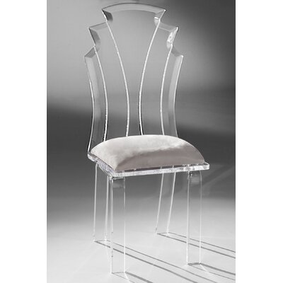 Tiffany Side Chair Upholstery: Silver
