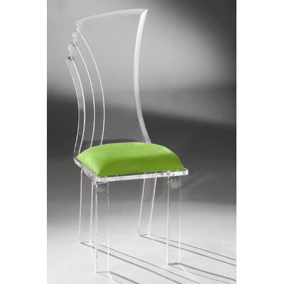 Prisma Side Chair Upholstery: Lime